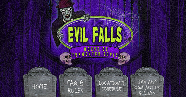 Evil Falls Haunted House