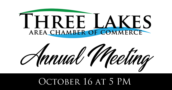 Three Lakes Chamber Annual Board Meeting